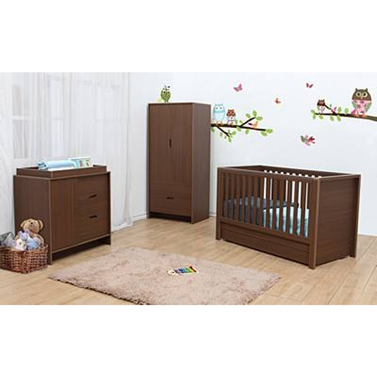 Nursery furniture collections bradford black nursery for Affordable nursery furniture sets